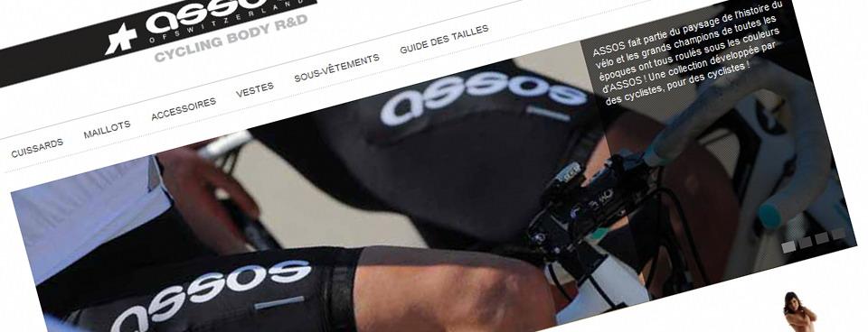 ASSOS-online, vêtements techniques haut de gamme pour le cycliste