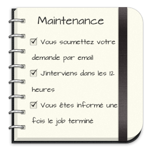 Tarifs maintenance