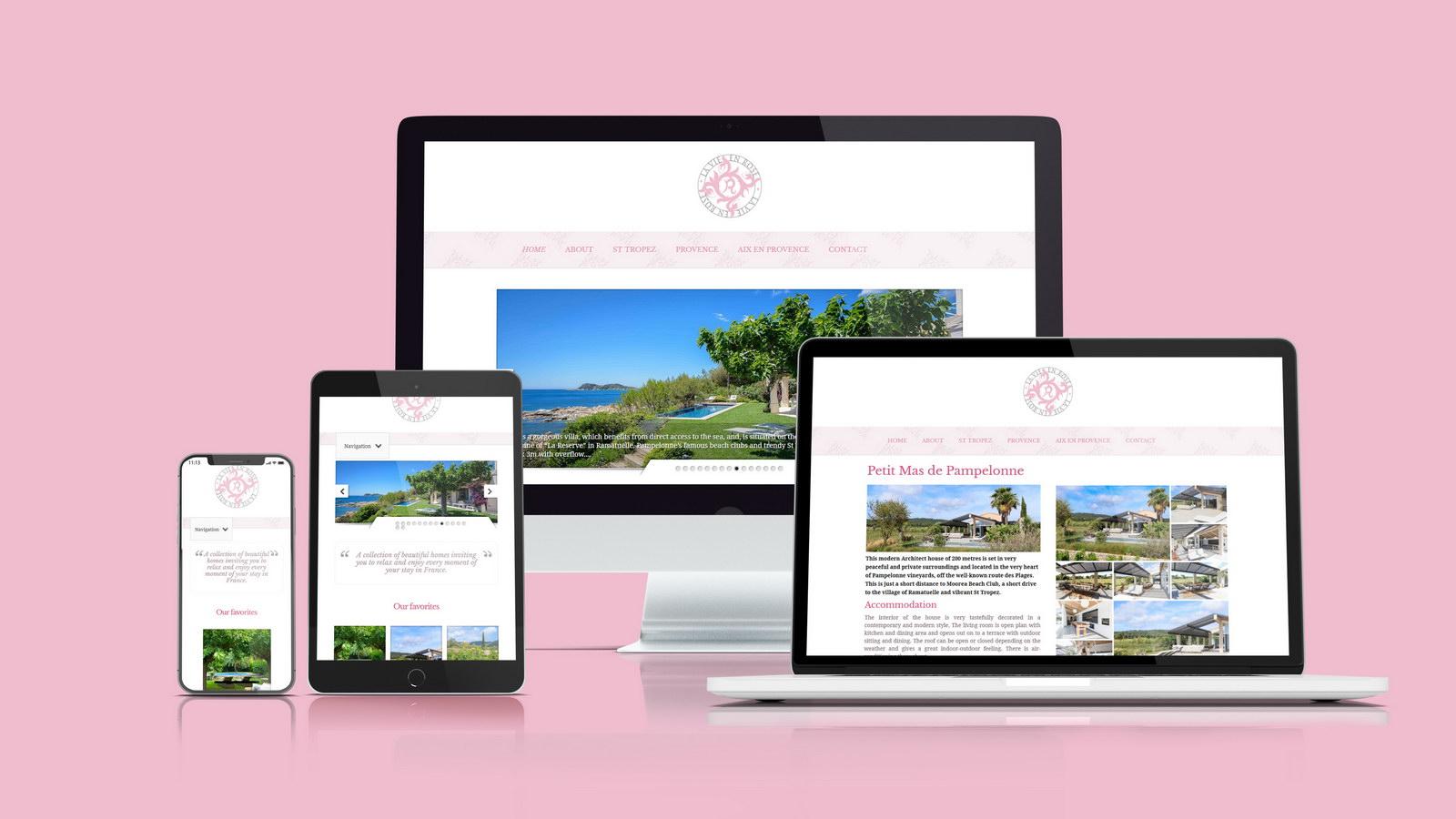 La vie en rose villas