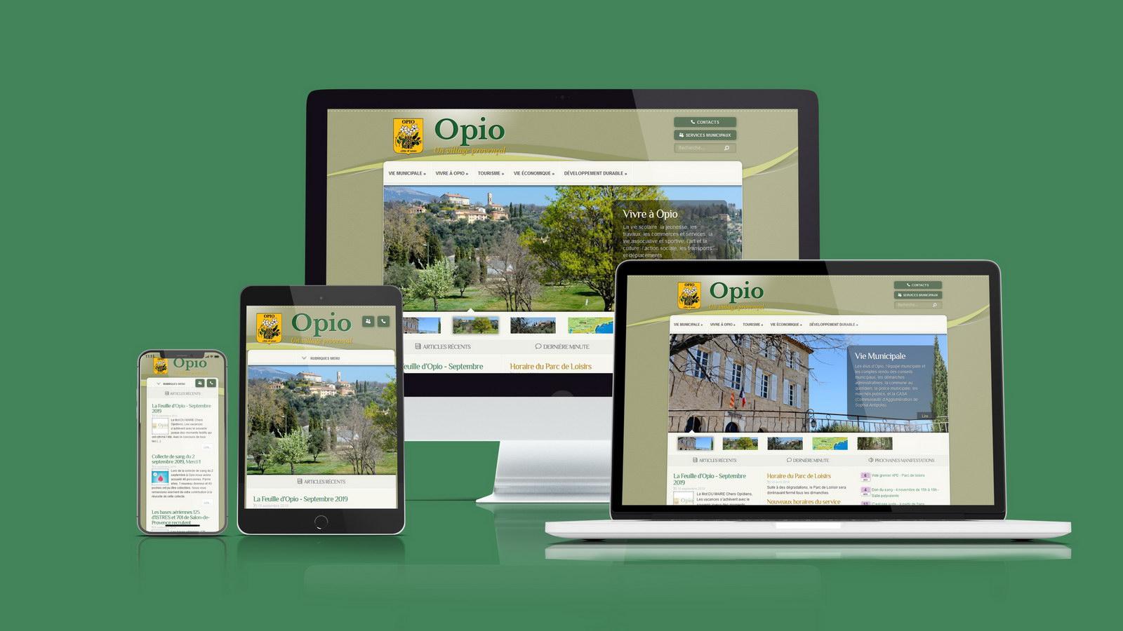 Mairie d'Opio